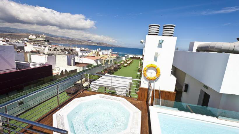 Piscina Cantur City Hotel Las Palmas de Gran Canaria
