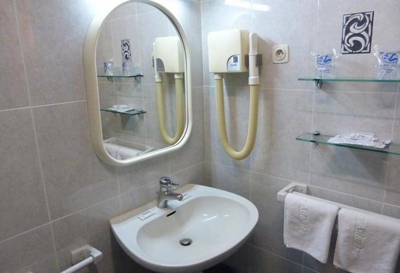 Cuarto de baño Hotel Gran Atlanta Madrid