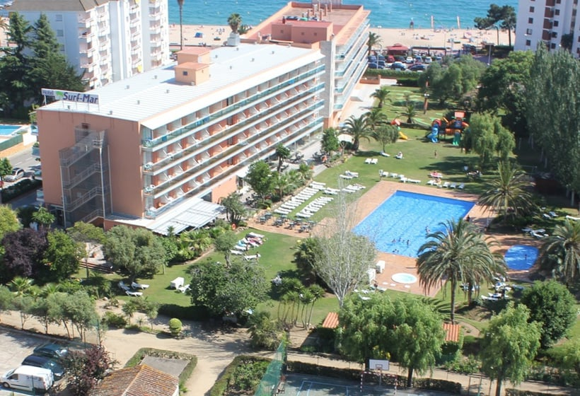 Hotel surf mar en lloret de mar desde 24 destinia for Hoteles en lloret de mar con piscina climatizada