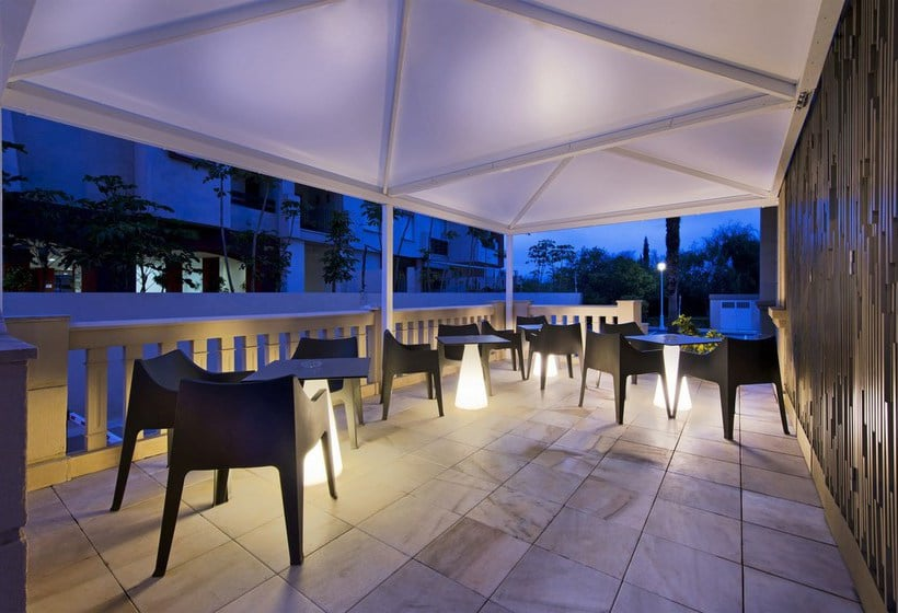 Terraza Hotel Elba Motril Beach & Business