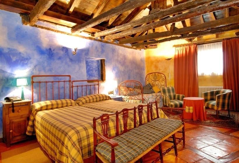 Hotel posada real casa del abad en ampudia destinia - Posada real casa del abad ...