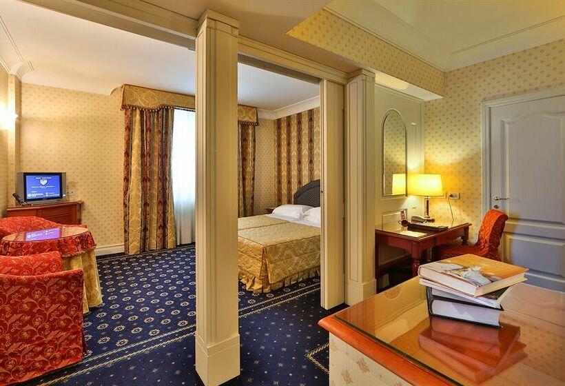 Habitación Best Western Grand Hotel Adriatico Florencia