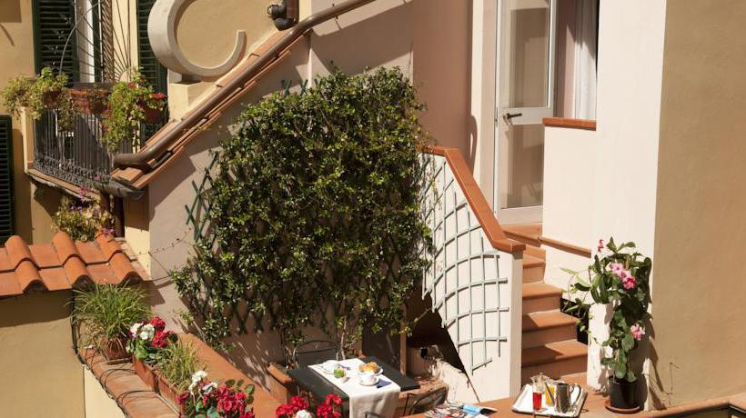 Zonas comunes Hotel Rivoli Florencia