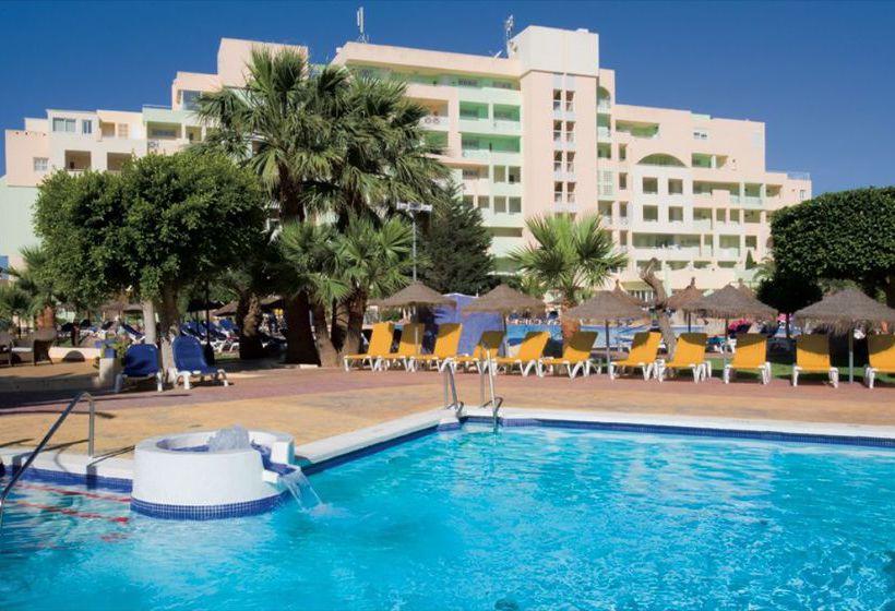 Piscina Apartamentos Fenix Beach Roquetas de Mar