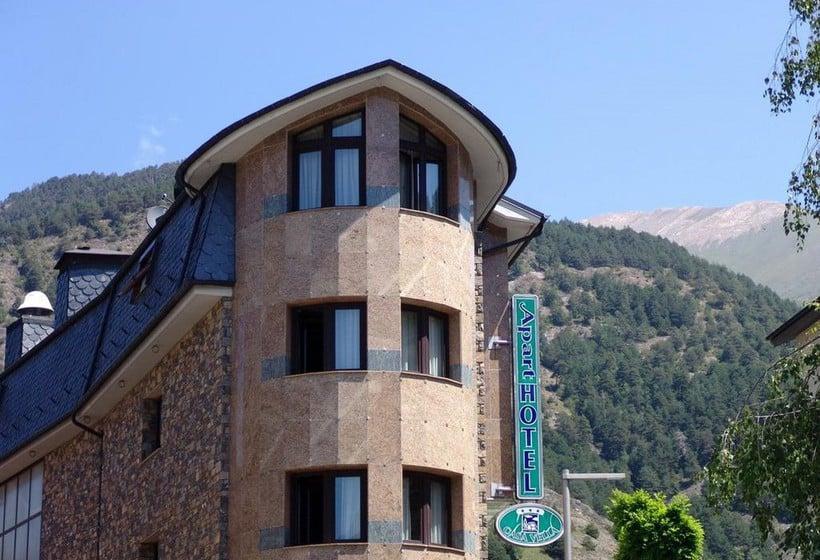 Exterior Aparthotel Casa Vella Ordino