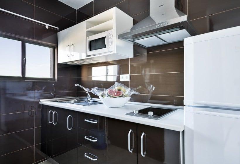 Cocina Apartamentos Best Pueblo Indalo Mojácar
