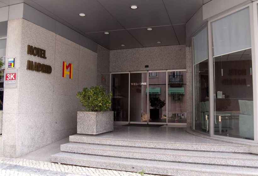 Exterior Hotel 3K Madrid Lisboa