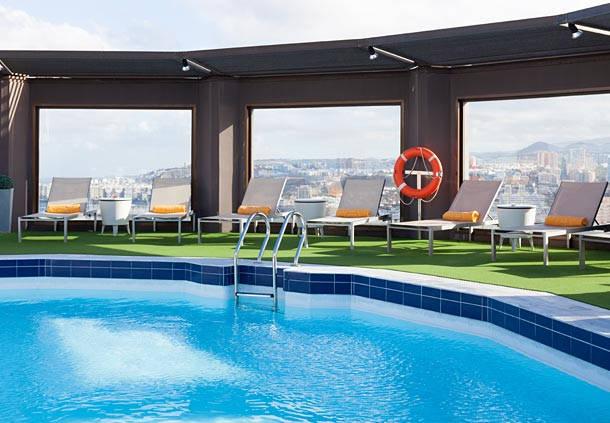 Hotel ac gran canaria en las palmas de gran canaria destinia - Piscina las palmas ...