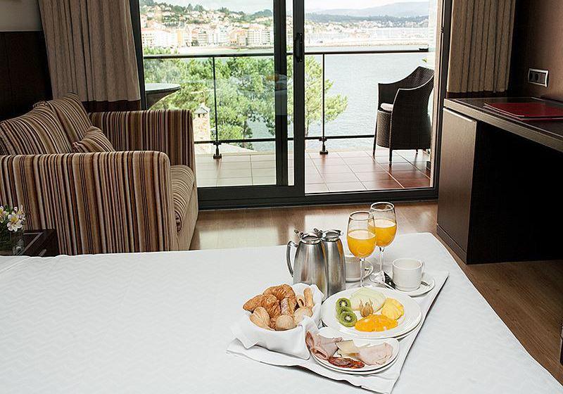 Zonas comunes Gran Talaso Hotel Sanxenxo