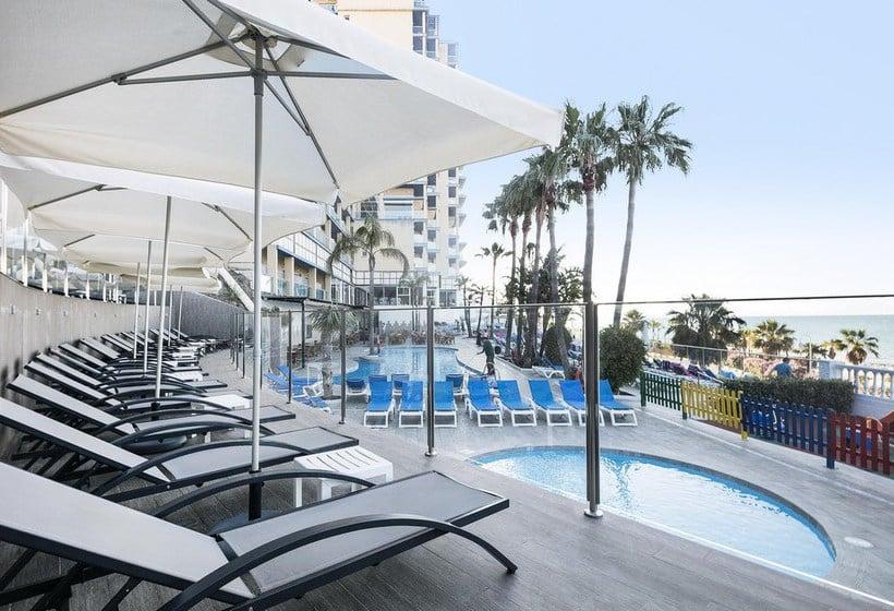 Terraza Hotel Best Benalmádena