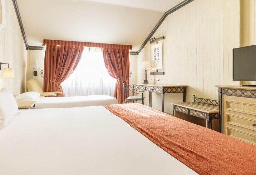 Habitación Hotel Ilunion Mérida Palace