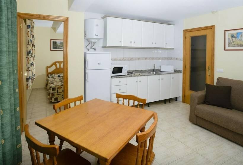 Cocina Apartamentos Avenida Benidorm