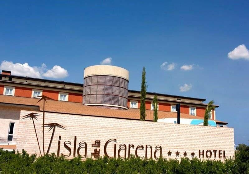 Hotel isla de la garena en alcala de henares destinia - Pisos en la garena alcala de henares ...