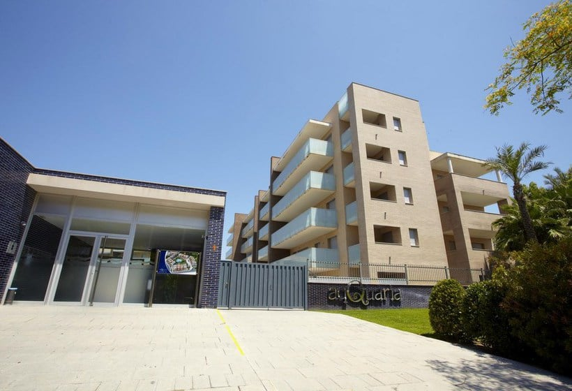 Exterior Apartamentos Ibersol Spa Aqquaria Salou