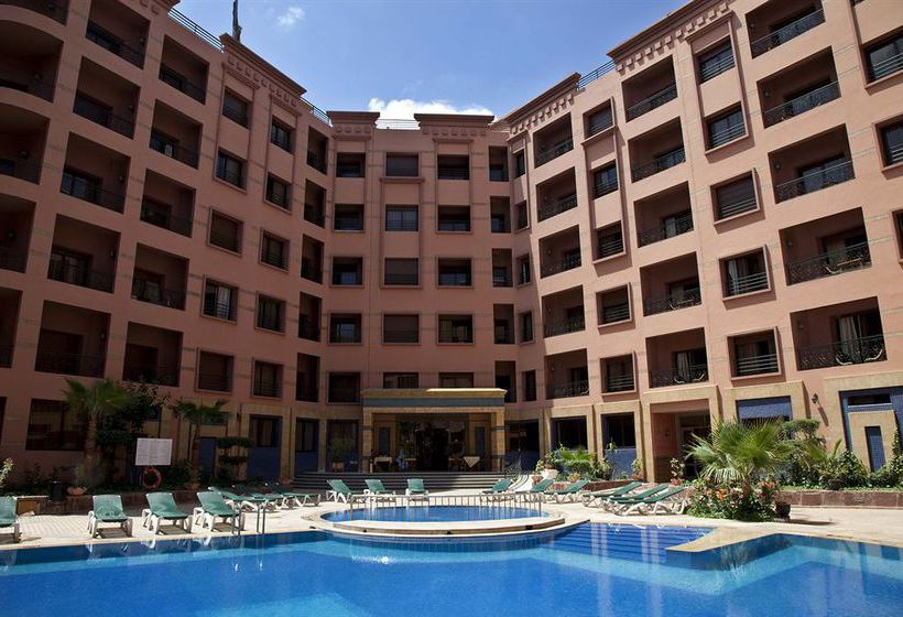 Mogador menzah appart h tel en marrakech destinia for Apparthotel 22