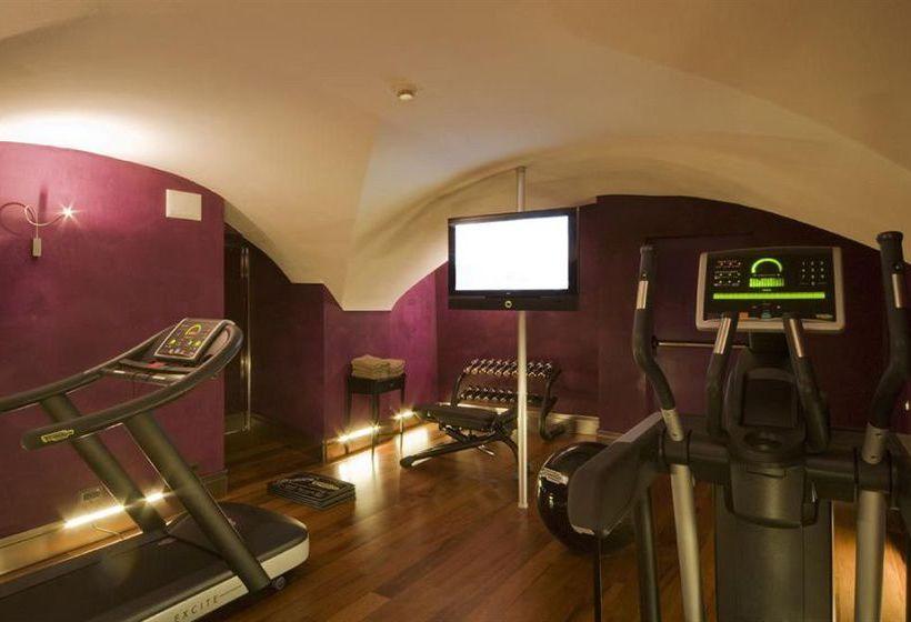 Instalaciones deportivas Hotel L'Orologio Florencia