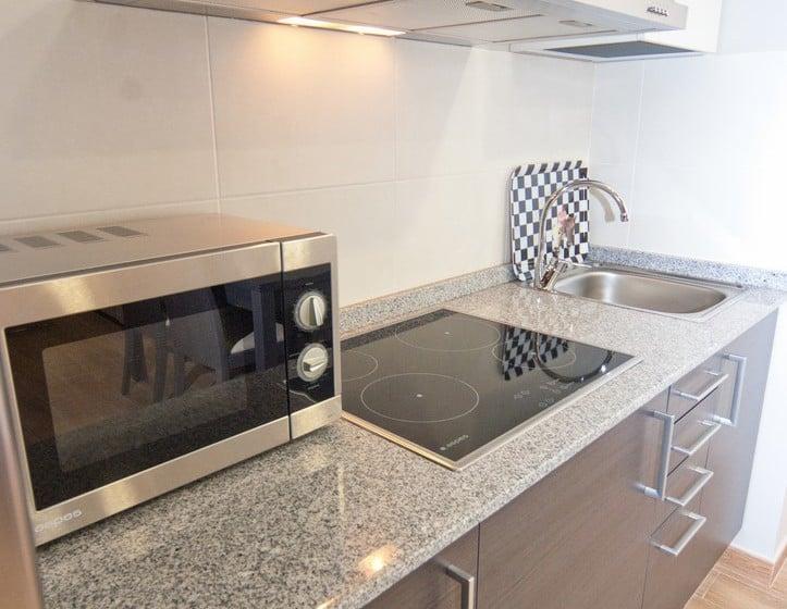 Cocina Aparthotel Jacetania Spa Jaca