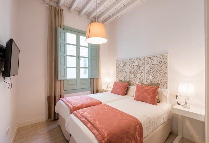 Habitación Apartamentos Palacio Cabrera Lillo Granada