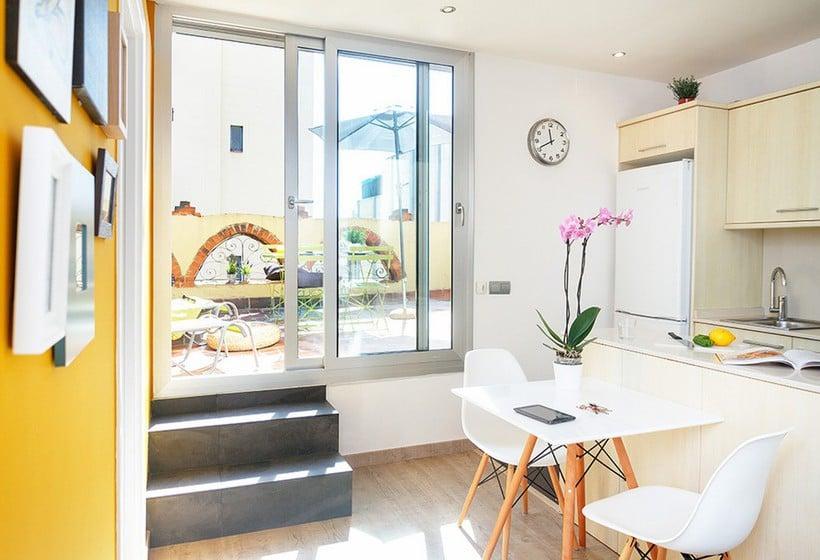 Habitación Feelathome Vila Apartment Barcelona
