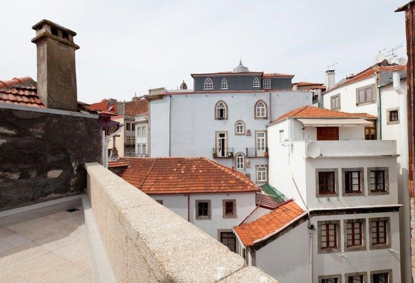 Terraza Hotel Inpatio Guest House Oporto